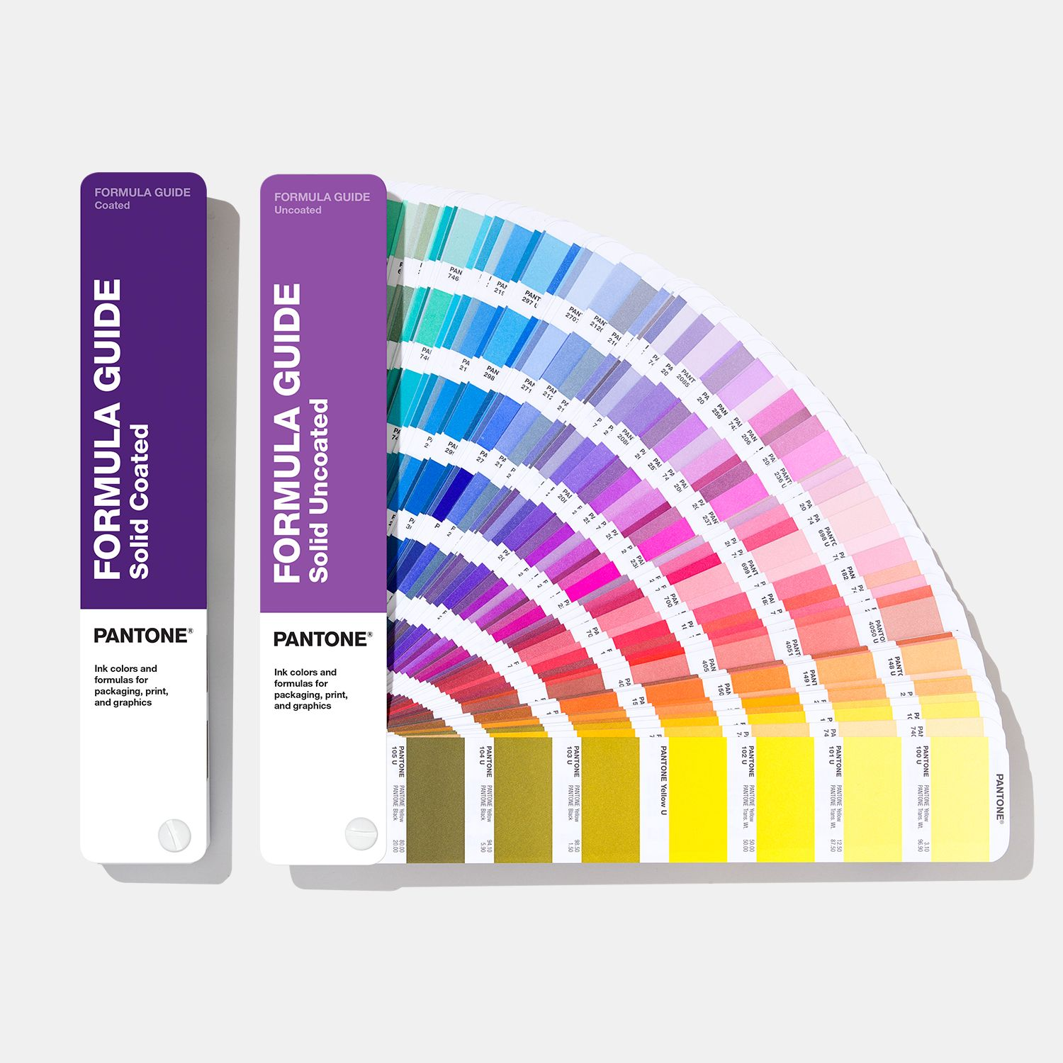 formula guide coated uncoated pantone color book 286 5265 c