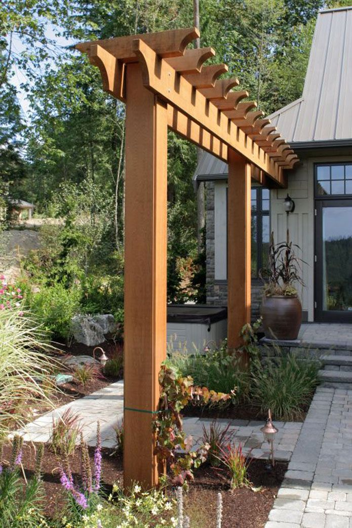 Arbors Bridges Gallery Outdoor Pergola Backyard 400 x 300