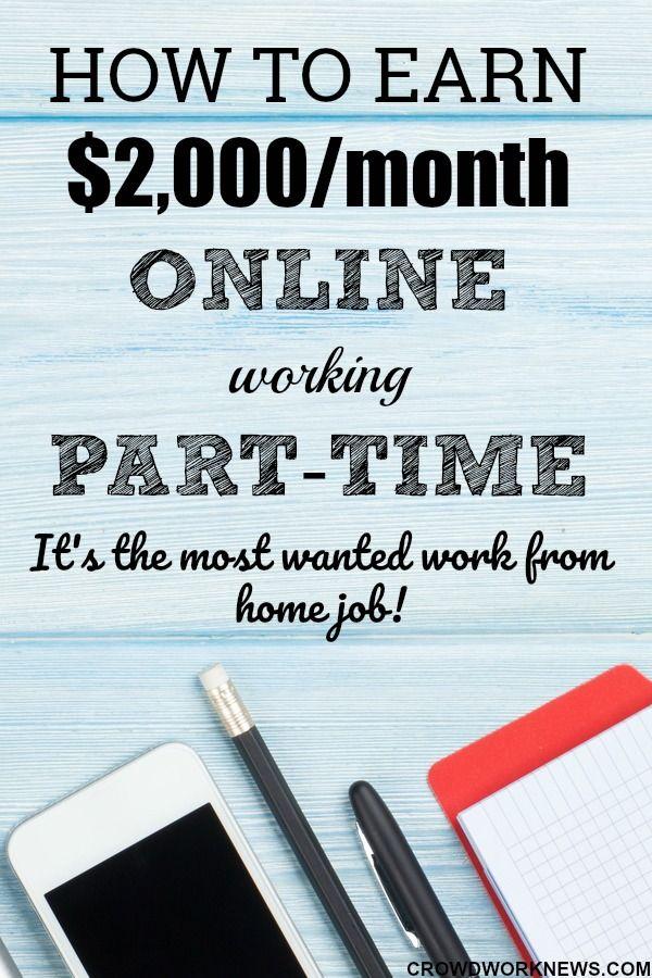 Legitimate work from home jobs 2018