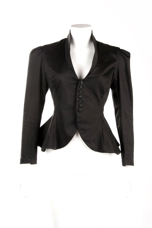 Morgana Vintage Jacket in Black