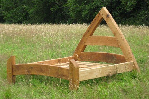Cruck Frame Bed Woodworking Medieval Furniture Wood