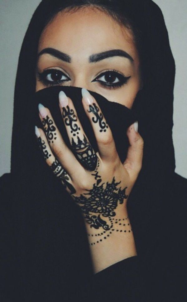c8f46a6edbde6 henna-tattoo-80 | beauty | Henna, Muslim tattoos, Henna designs