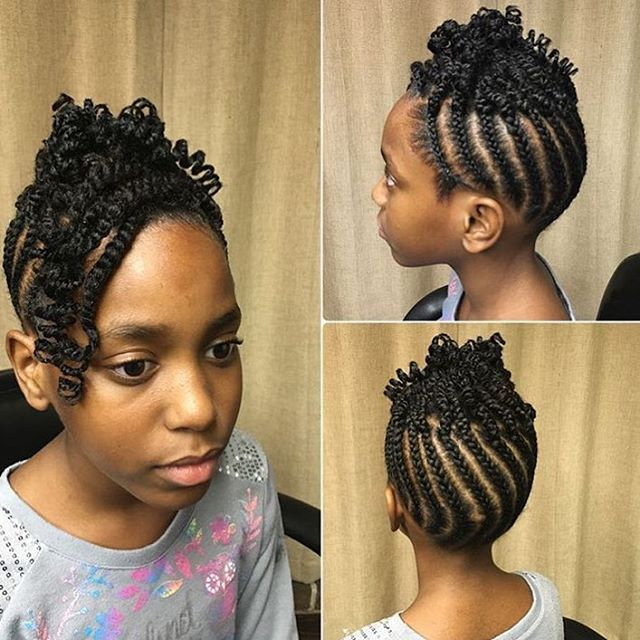 Cornrows For Little Girls Cornrows Extensions Braids Hair Hairstyles Cornrows For Little Girls Hair Styles Natural Hair Styles