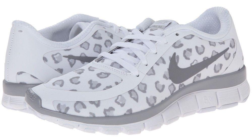 83995eb5d529 ... coupon code nike free 5.0 v4 authentic white cheetah leopard print  shoesall sizes nike runningcrosstraining 7ff2a