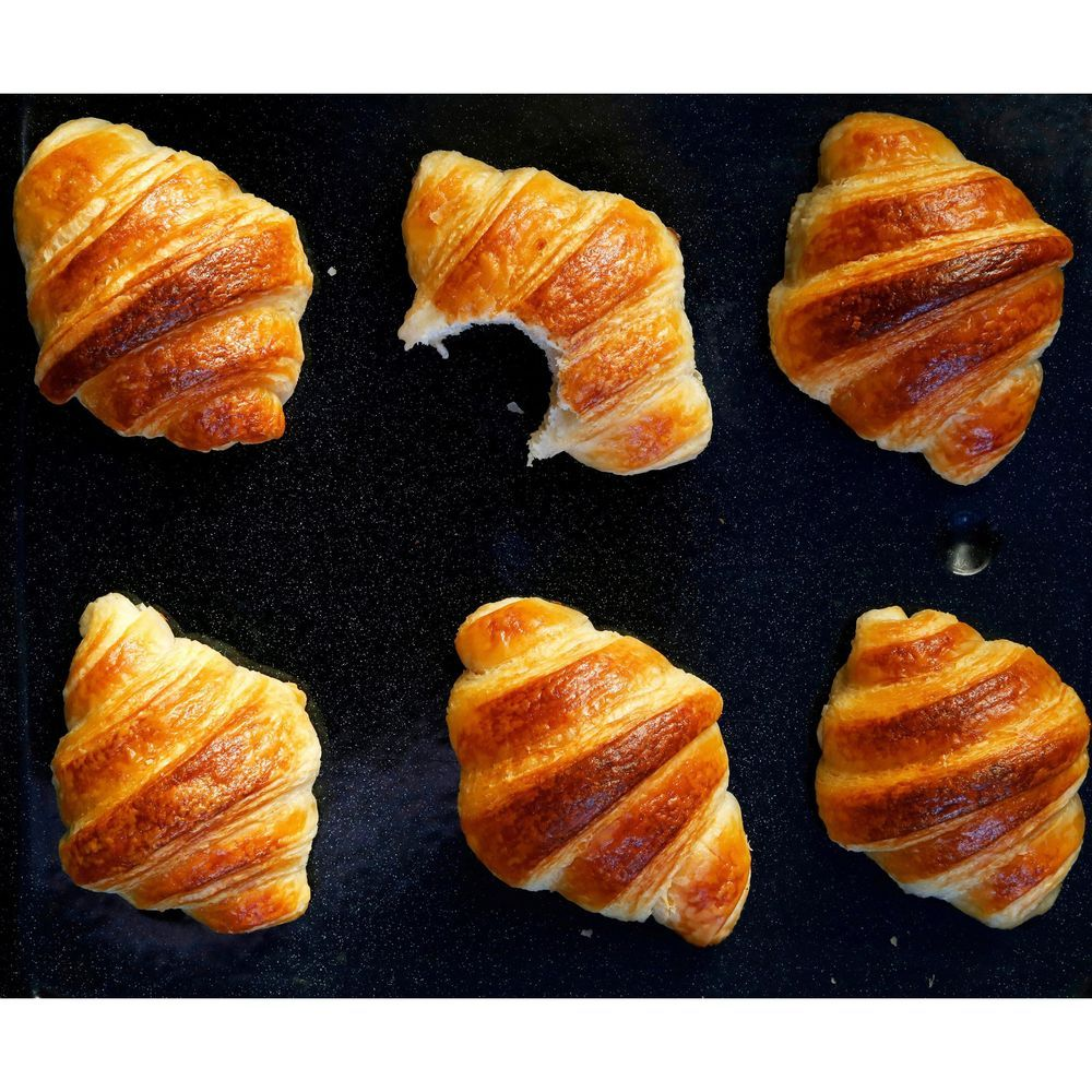 100 Sourdough Croissants Commercial Yeast Free Recipe Yeast