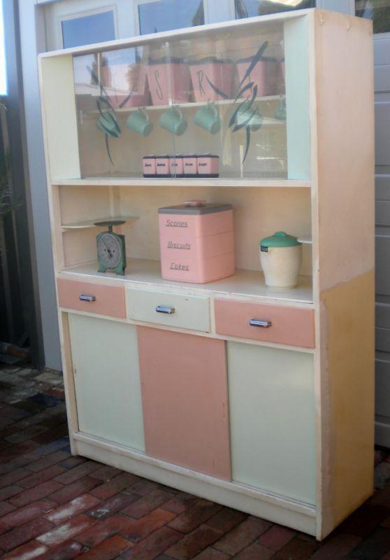 Vintage Kitchenette A Simpler Lifestyle Vintage Kitchen Cabinets