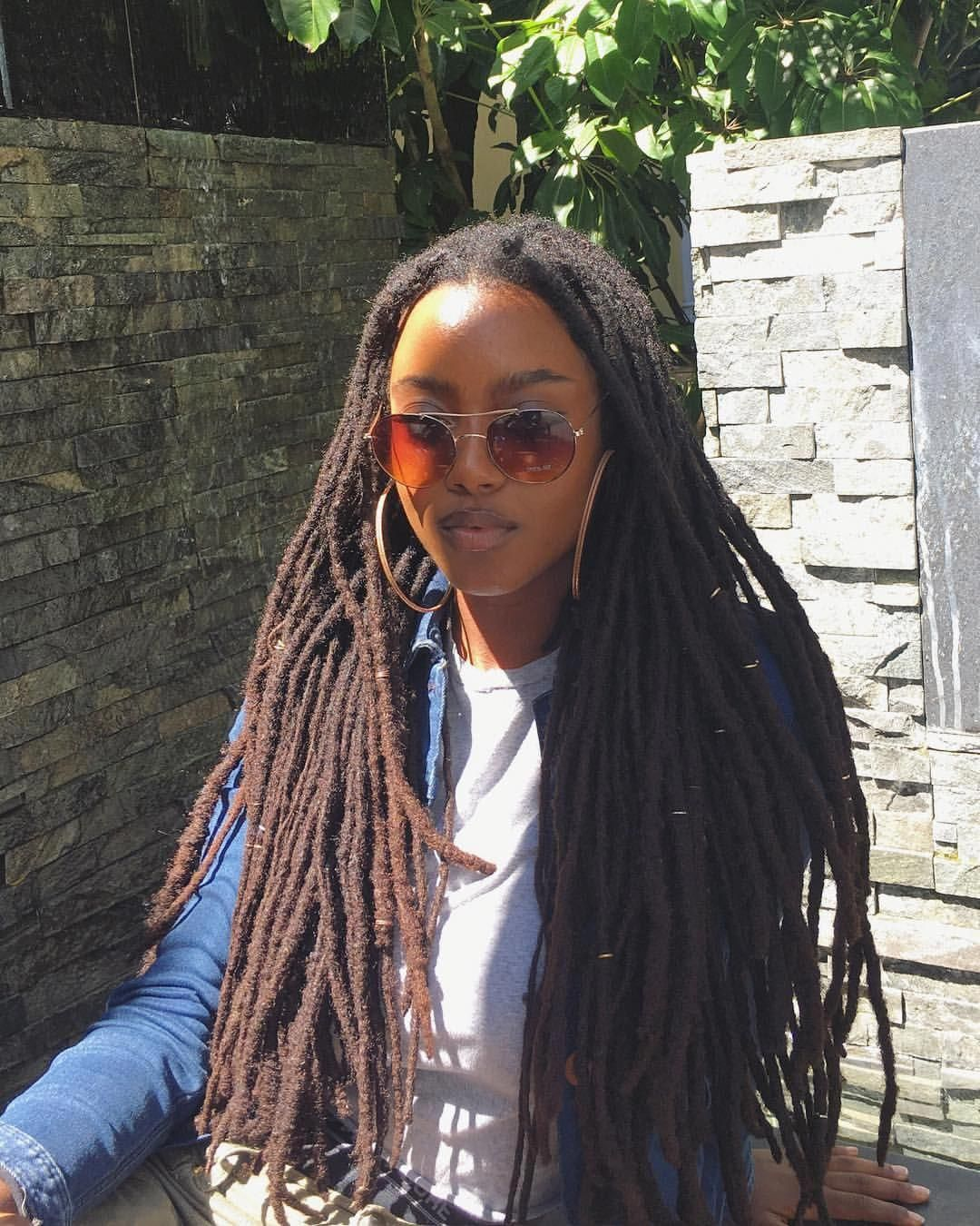 Natural Hair Long Locs Black S Women Beauty With Naturalhairstyles