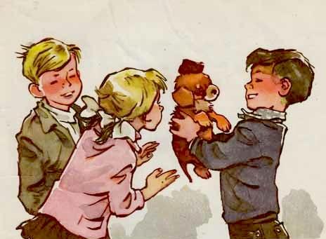 иллюстрации к рассказу дружок галстуки были строго
