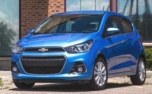 2019 Chevrolet Spark Redesign The Chevrolet Spark Is The Smallest
