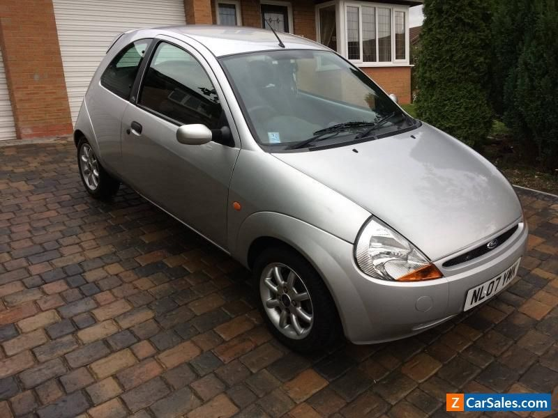 Car For Sale Ford Ka Zetec 2007 Silver 1 3 Petrol Low Mileage