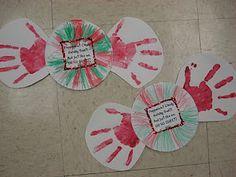 Hand And Footprint Preschool On Pinterest Calendar F0eCoSkK Christmas Gifts For ParentsGift