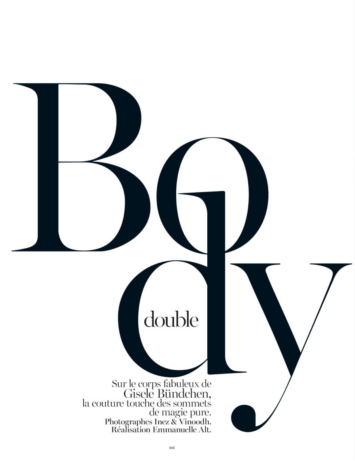 gisele b ndchen in body double by inez vinoodh for vogue paris rh pinterest com Vogue Logo Tumblr vogue eyewear logo font