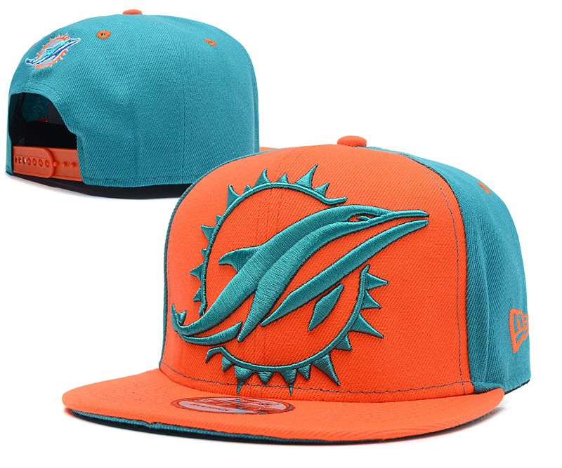NFL Miami Dolphins Snapback Hat (42)  312190986a0