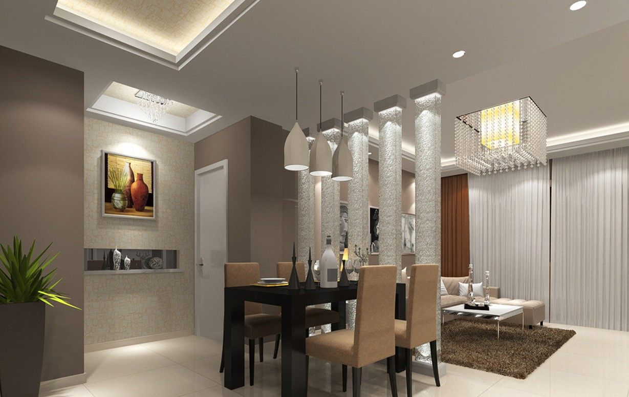 Ceiling Designs For Your Living Room Dining Table DesignModern