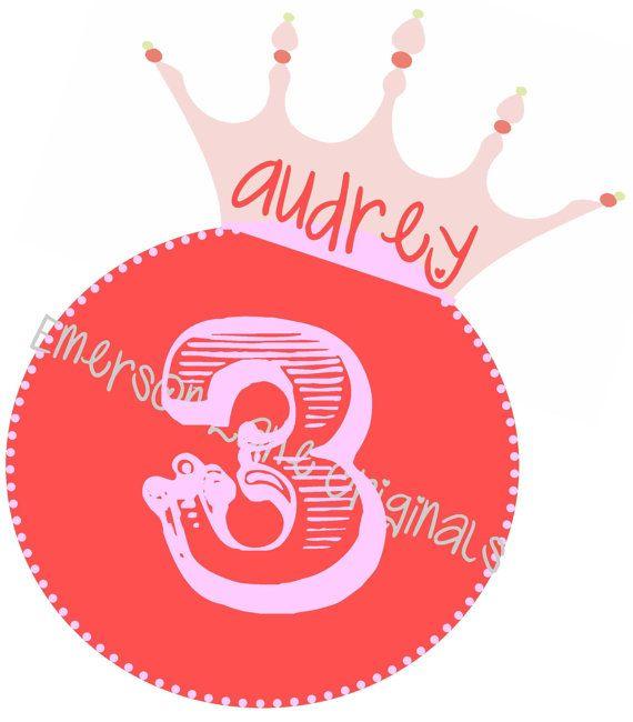 Birthday Tiara  FILE ONLY by EmersonLaneOriginals on Etsy, $3.00
