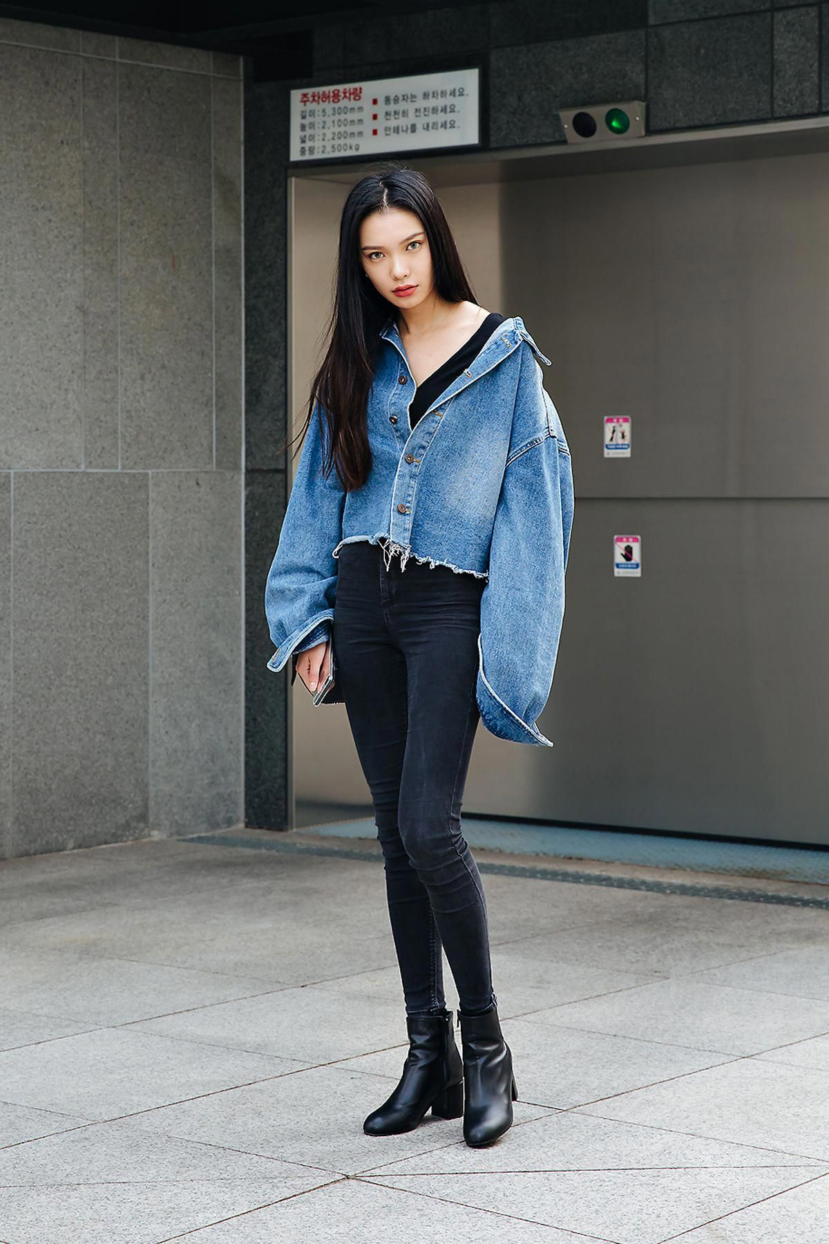 Blue Chic outfits 2015 street style inspiration