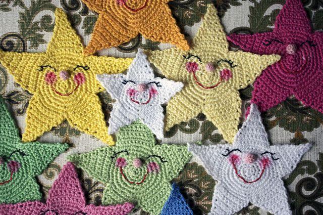 Crochet Pattern on the stars