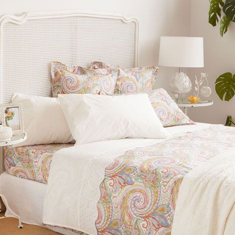 Multicolored Paisley Bedding Bedding Bedroom Zara Home United