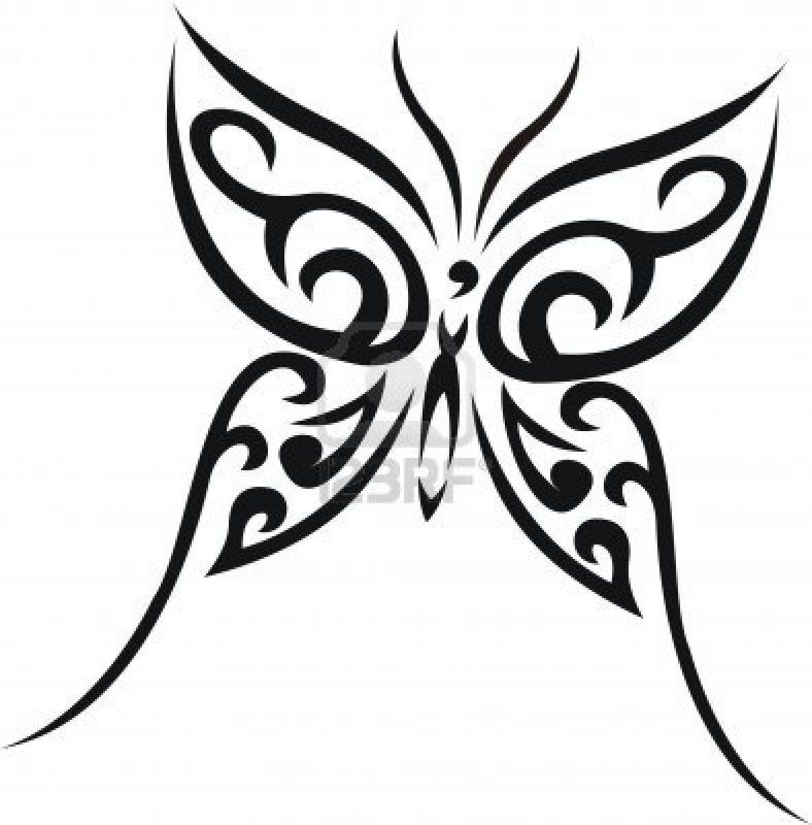 Dessin En Couleurs A Imprimer Animaux Insectes Papillon