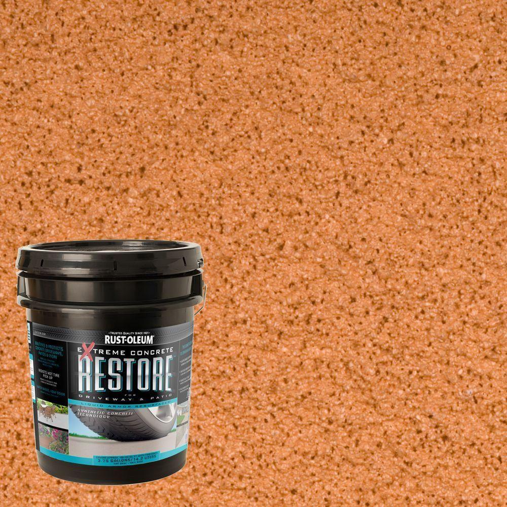 Rust-Oleum Restore 4 gal. Cedartone Liquid Armor Resurfacer