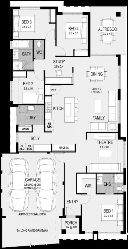 The Amalfi Floorplan 2015 House Designs I Love
