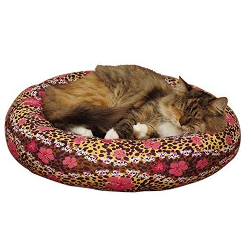 Grriggles Us5424 12 Cozy Kitty Skullfari Cat Bed Leopard Visit The Image Link More Details Note It Is Affiliate Link To A Cat Bed Cat Bed Furniture Pet Beds