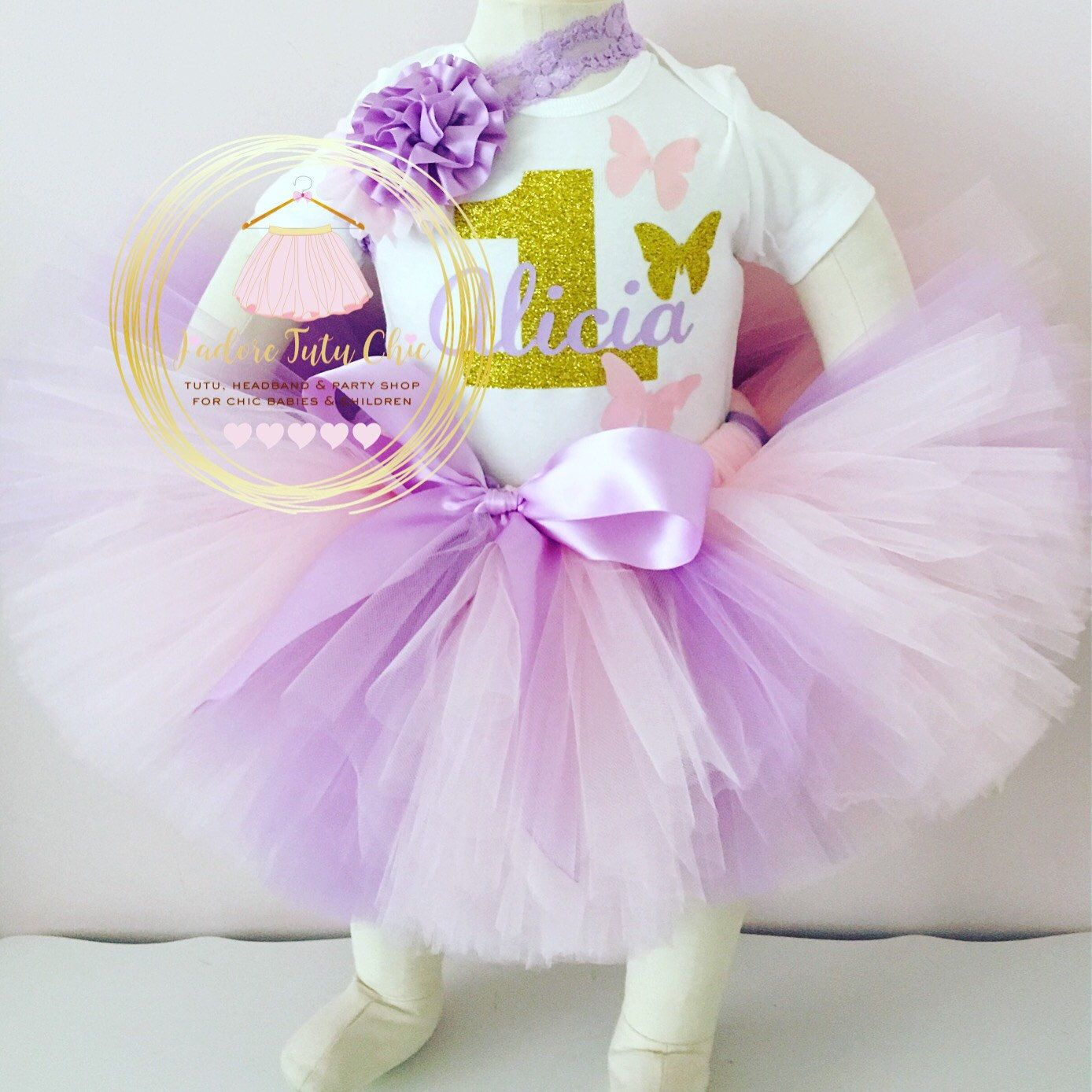 A personal favorite from my Etsy shop https://www.etsy.com/ca/listing/270090555/butterfly-birthday-outfit-pastel-tutu