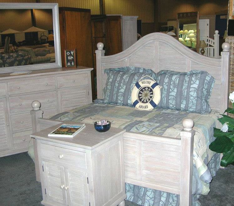Tortuga White Wicker Bedroom Furniture Group By Seawinds Trading