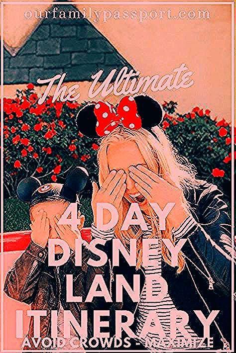 Photo of The Ultimate Disneyland Itinerary to Avoid Crowds | Our Family Passport – Früchte im Garten