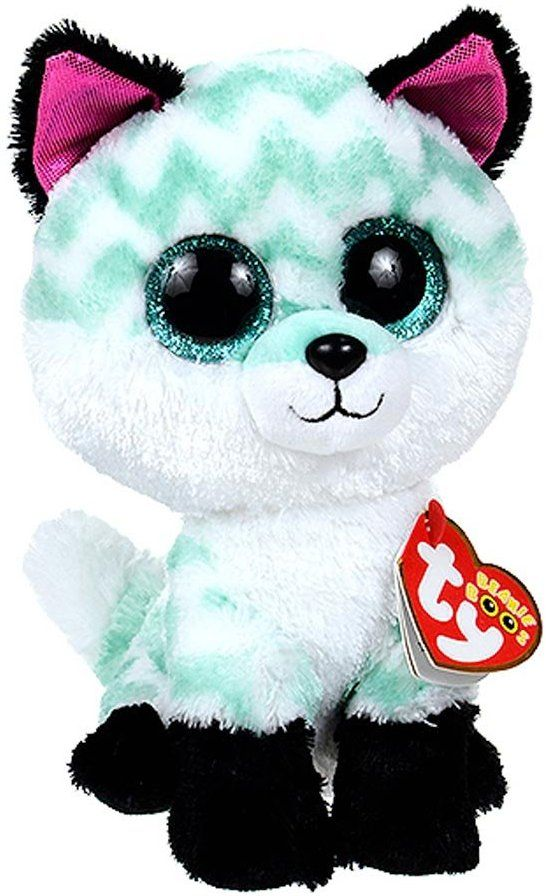 """TY BEANIE BOOS IZABELLA THE HUSKY 6/"""" CLAIRE'S EXCLUSIVE MINT WITH MINT TAG"""