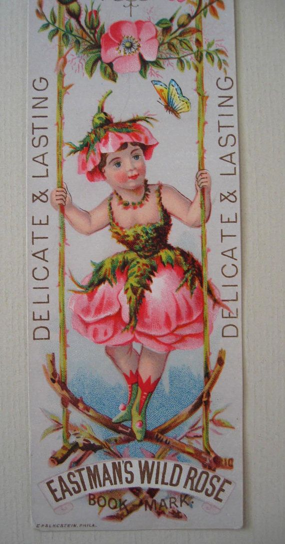 c1890 Roses Lady Perfume Print Eastmans by VictorianRosePrints
