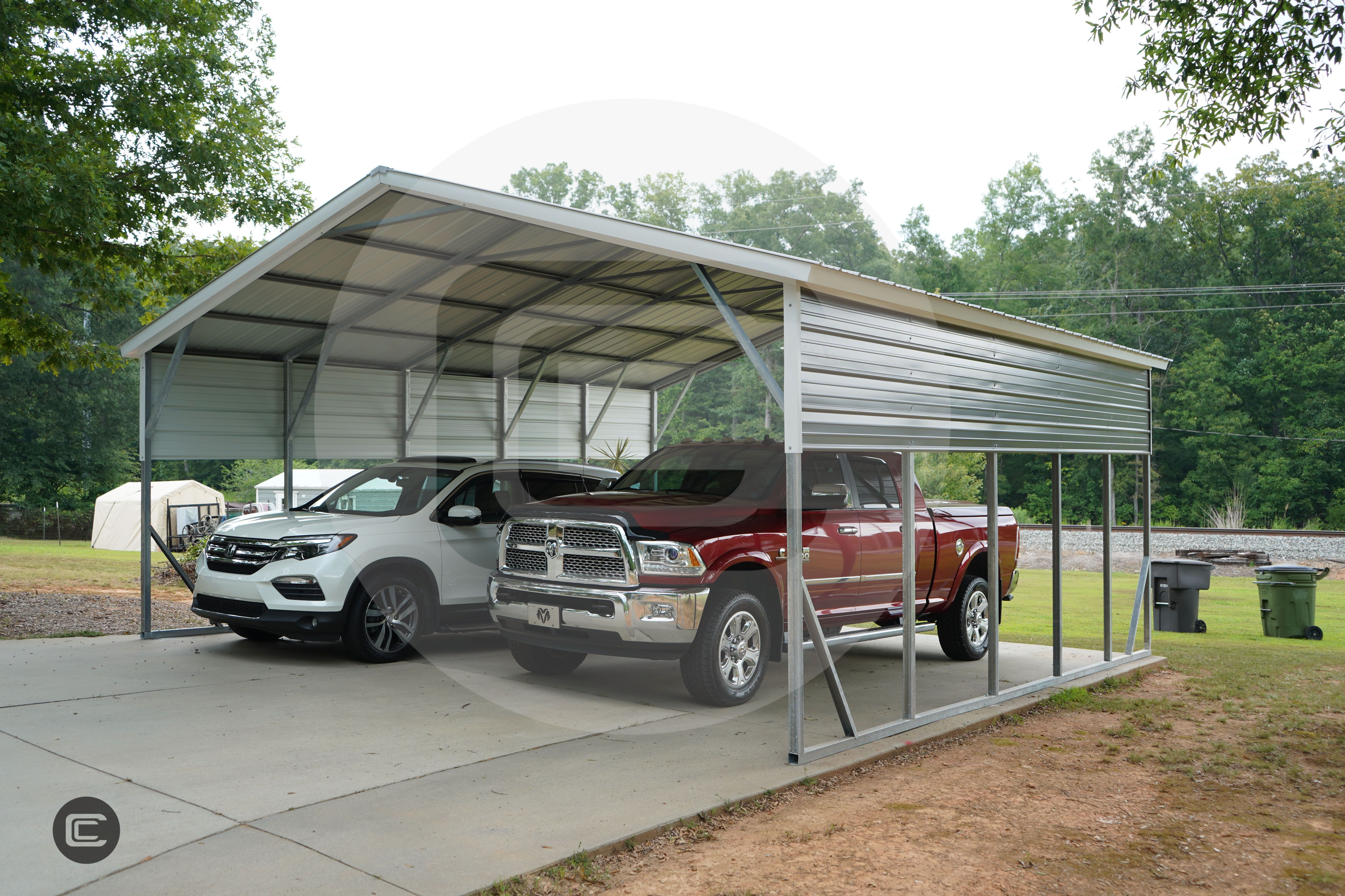 Carport Central's install of the week is this 22x26x10