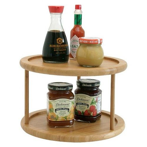 Lazy Susan Spice Rack Gorgeous Lazy Susan Spice Rack #lazysusan #spicerack #kitchenstorage  Weekly Decorating Design