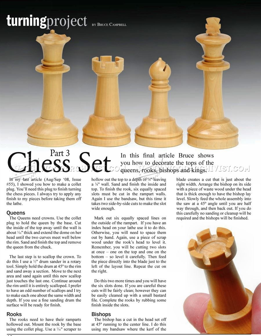 projects ideas metal chess pieces. Woodturning Chess  Projects and Techniques Woodwork Woodworking Plans 2288 Wood Turning Pinterest