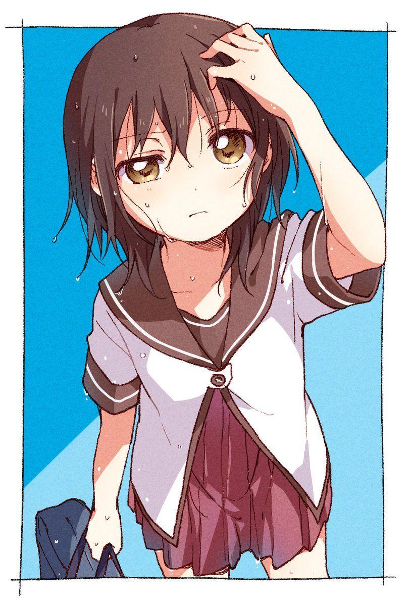 なもり 10 31大室家3巻発売 On Yuri Anime Anime Expressions Anime