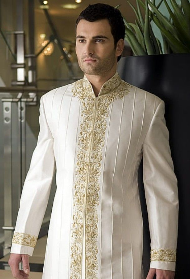 Men\'s White Suits for Formal Put on | Other Ideas | wedding | Pinterest