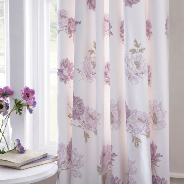 Dorma Lilac Lillian Lined Pencil Pleat Curtains Curtains Purple Decor Ceiling Design Bedroom