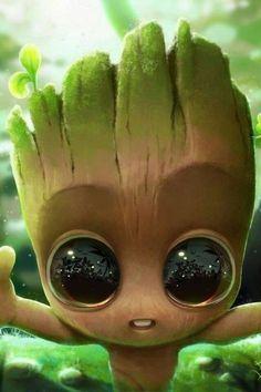 Baby Groot  Planter-Cute Flower Pot