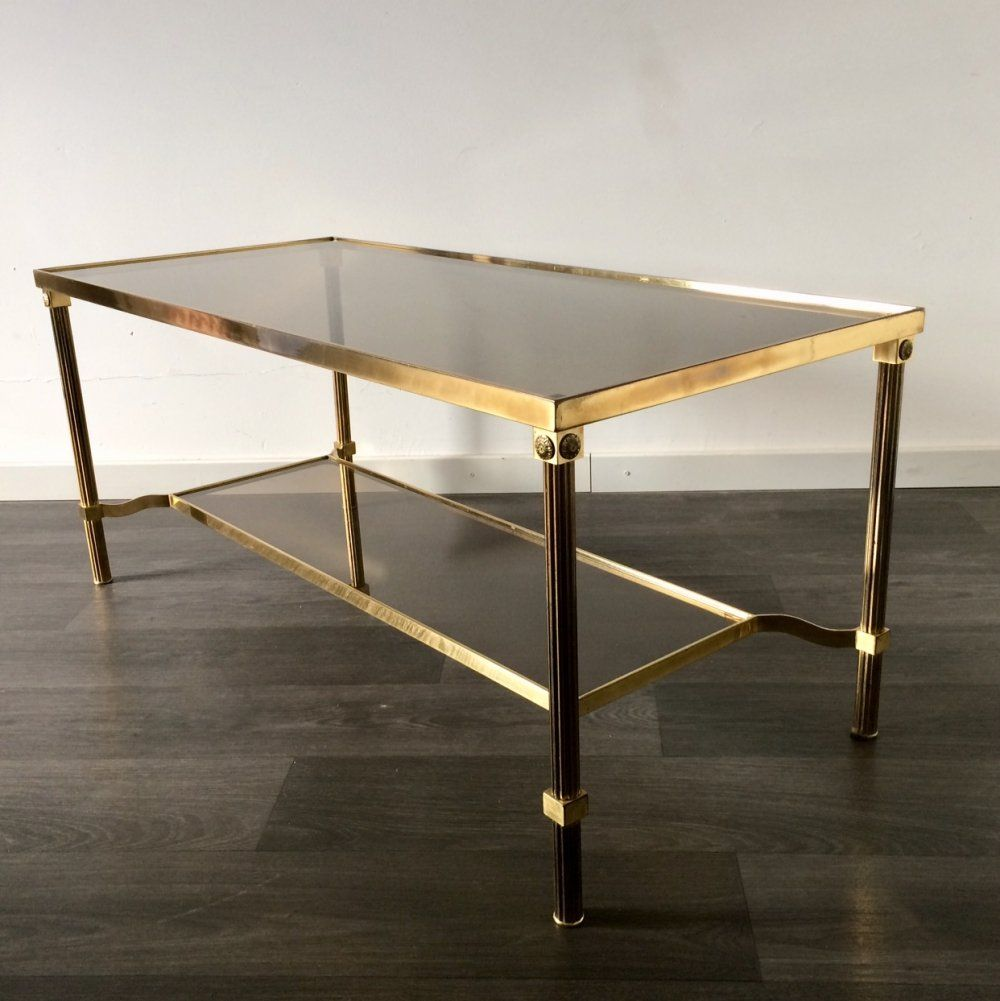 Mid Century Brass Swirl Base With Round Glass Top Coffee Table Zhurnalnyj Stolik Steklyannye Zhurnalnye Stoliki Kruglye Stoliki [ 1280 x 1280 Pixel ]