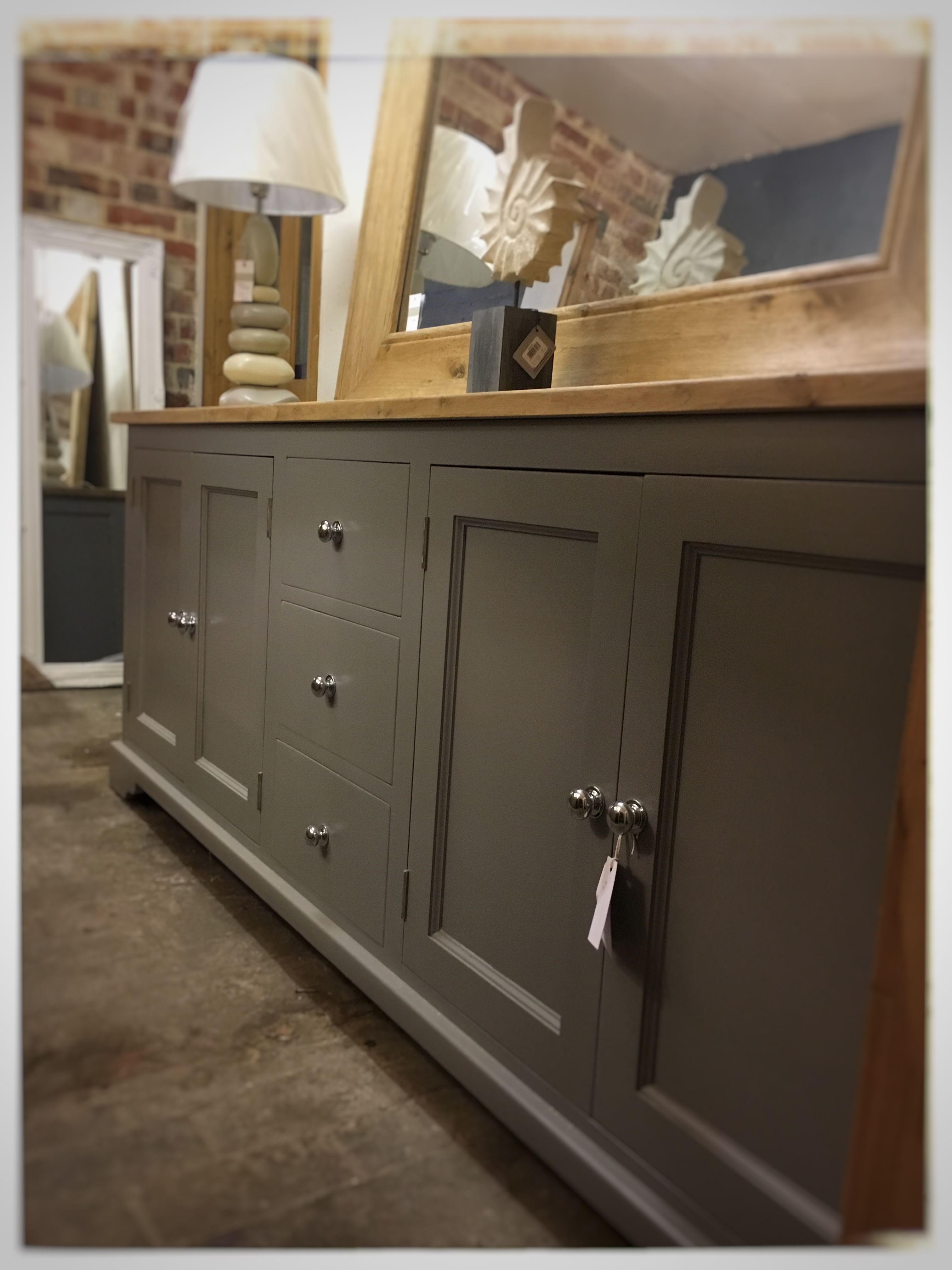 Painted Sideboard fully Bespoke this beauty is 7ft