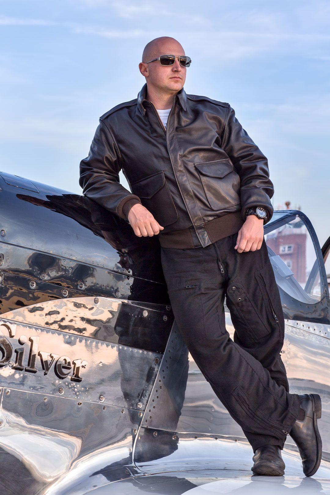 U.S.A.F. 21st. Century A2 Jacket Jackets, Aviator