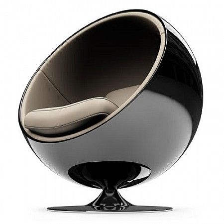 Ball chair Eero Aarnio 1966 - Artdeco Special Edition. It marked the beginning of the international career of Eero Aarnio, giving birth to a whole range of his fiberglass furniture.By cutting and removing a party and fixing it on one foot, Eero Aarnio obtains a remarkable achievement - an armchair with a revolutionary form perfectly. It gave birth to one of the most remarkable chairs the history of furniture of the 20th century.