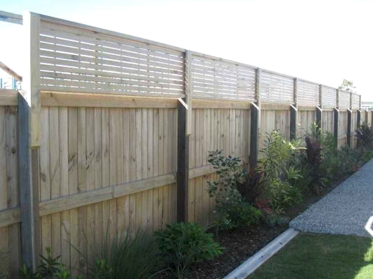 60 Stunning Backyard Privacy Fence Decoration Ideas On A Budget