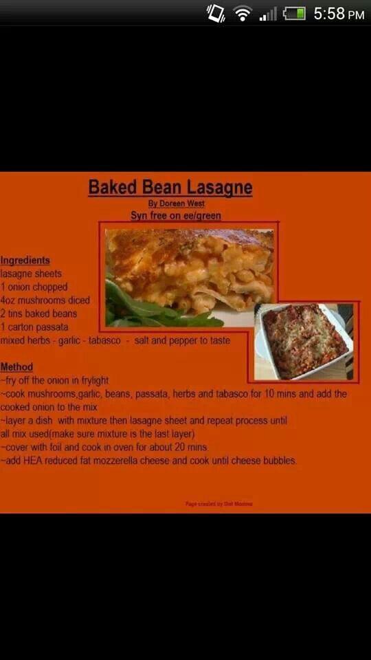 Bean Lasagt