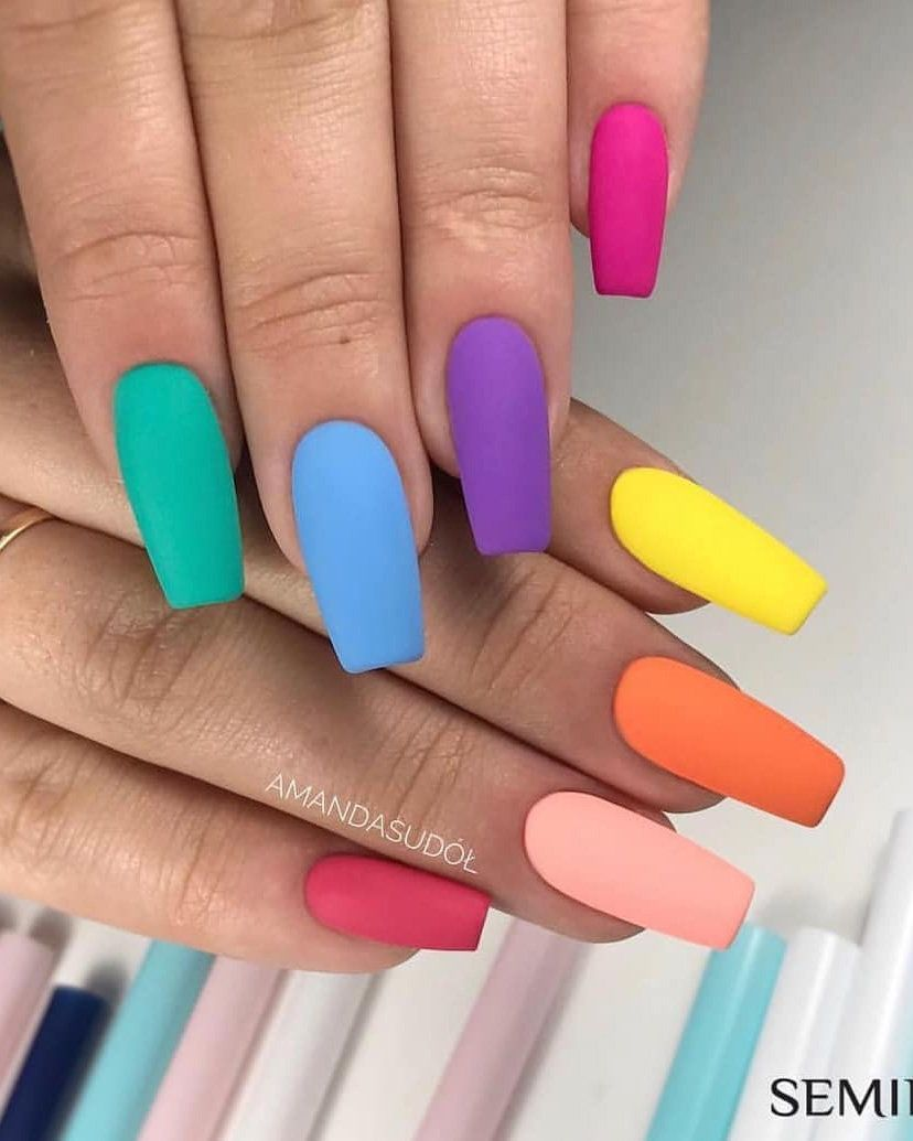 50 Long Acrylic Nail Art Designs Ideas For Summer 2019 Styles Art Nail Designs Summer Acrylic Best Acrylic Nails Long Acrylic Nails