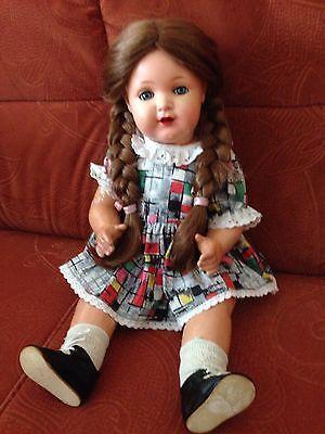 Schildkröt Puppe Stoffkörper Kunststoffglieder 60iger Jahre