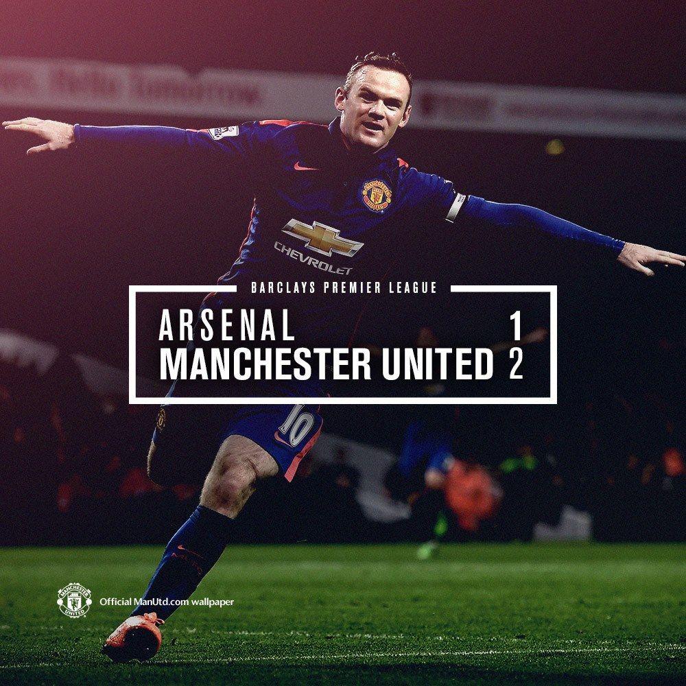Center Final Score Sports Graphic Design Manchester United