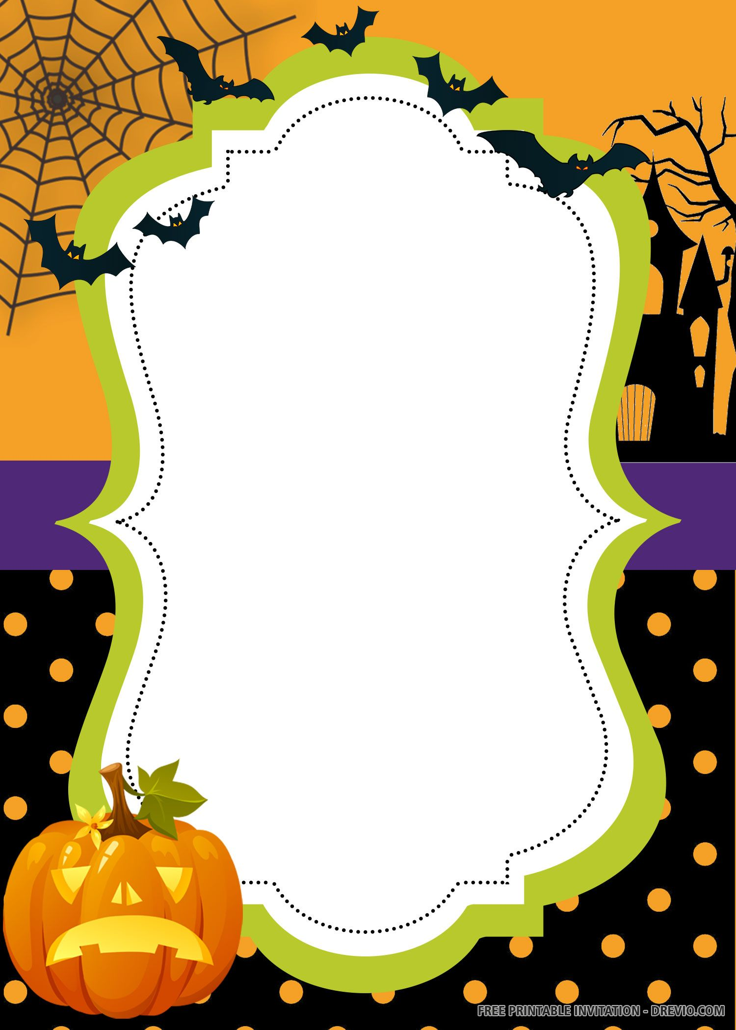 Free Printable Halloween Invitation Templates Halloween Invitation Templates Printable Halloween Invitations Free Printable Halloween Invitations