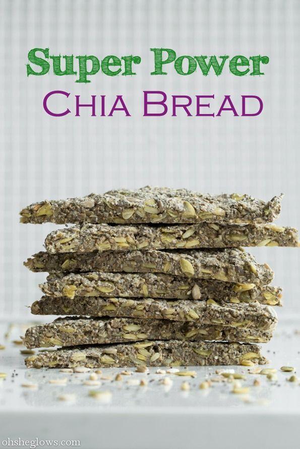 Super Power Chia Bread Gluten Free Oh She Glows Vegan Snacks Raw Food Recipes Whole Food Recipes
