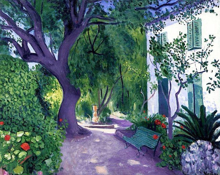 artishardgr: Albert Marquet - The Large Olive Tree 1943